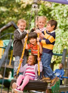 Hip Dysplasia & Kids on a tree swing