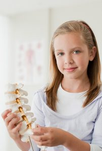 Girl under care of a Orthopedics doctor